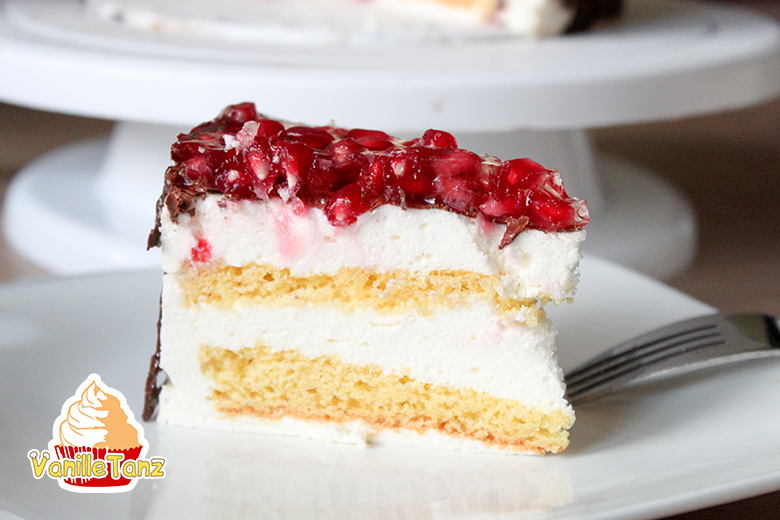 Russische Souffle Torte Vogelmilch Torte Vanilletanz