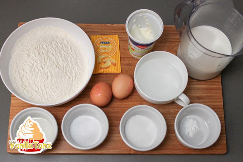 Pfannkuchen Crêpes Teig Rezept