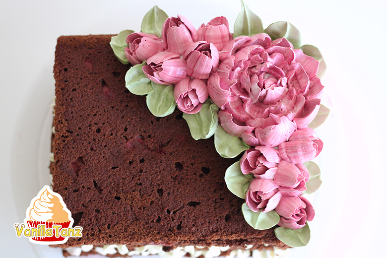 eiwei creme torte rustikal trifft auf eleganz vanilletanz. Black Bedroom Furniture Sets. Home Design Ideas