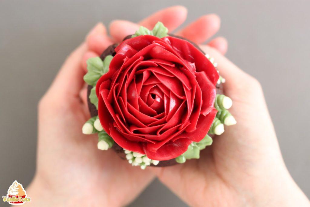 Tutorial Rose Aus Hochglanz Milch Buttercreme Vanilletanz