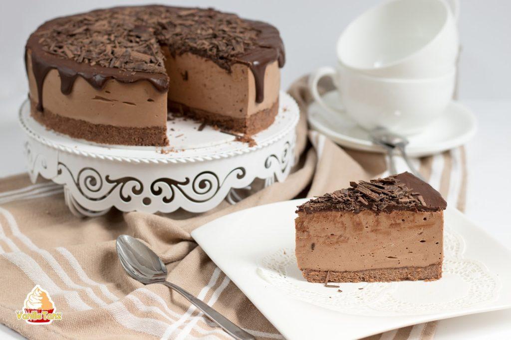 Philadelphia Torte Rezept mit Keksboden