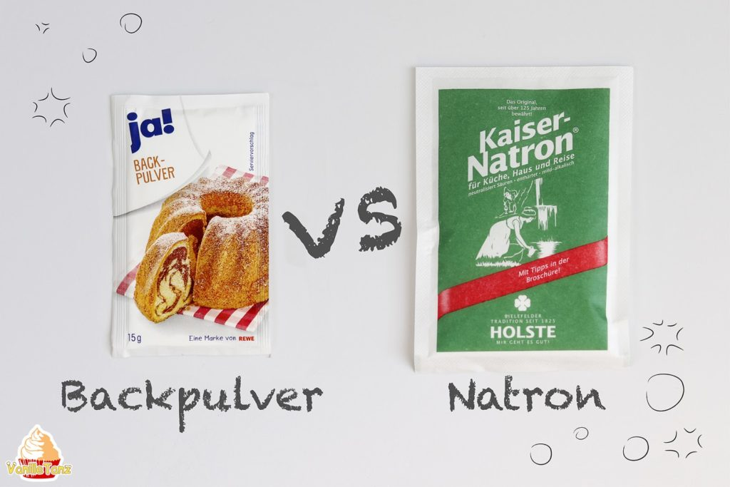 Backpulver vs. Natron