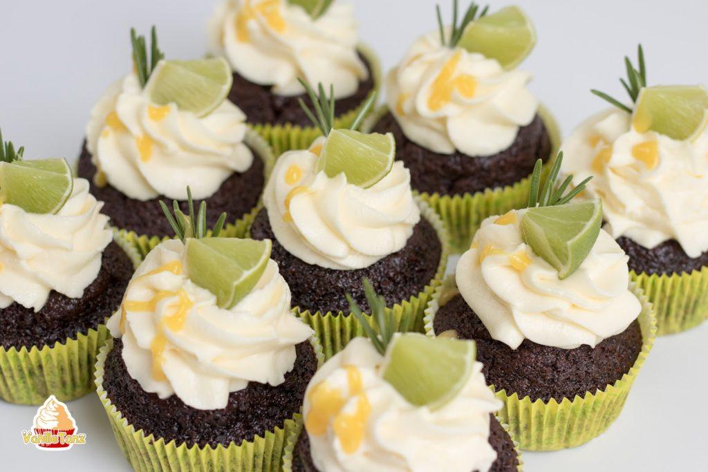 Schoko - Orangen - Cupcake